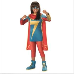 NEW Ms Marvel Halloween Costume Cosplay Rubie's